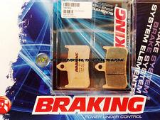 PER HONDA RS GP 125 1995 95 PASTIGLIE ANTERIORE SINTERIZZATE FRENO BRAKING CM55