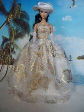 Accessoires Robe de mariée et robe Princesse pour poupée Barbie + chapeau