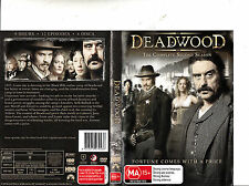 Deadwood-The Complete Second Season-2004/2006-TV Series USA-4 Disc-DVD