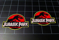 Jurassic Park original movie style logo vinyl decal sticker dinosaur JP Trex