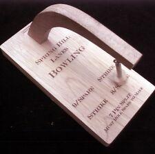 10 Pin Shot Maker Machine - wood Bowling Game Customized w/ your name -  USA