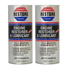 New AMETECH RESTORE OIL in yr MITSUBISHI FTO PAJERO SHOGUN engine 2 x 400ml cans
