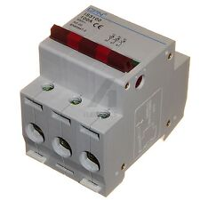 100 amp 3 phase isolator incomer switch 100A triple pole disconnector 400V TP
