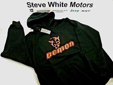 New Dodge Demon Men's Hooded Sweatshirt Black & Red Demon Hoodie Men's 2XL