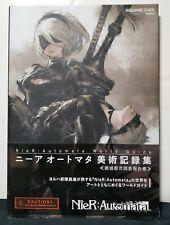 Square Enix NieR: Automata World Guide Bijutsu Kiroku Shu  Book Japanese