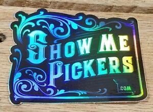 "3"" Show Me Picker Logo Sticker Holographic"
