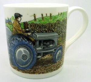 FERGIE TRACTOR Large Fine Bone China Mugs ~ use the drop down list