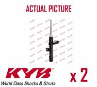 2 x FRONT AXLE SHOCK ABSORBERS PAIR STRUTS SHOCKERS KYB OE QUALITY 633839
