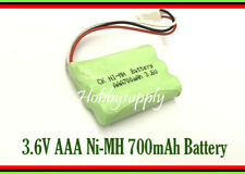 3.6V AAA Ni-MH 700mAh Rechargeable Battery with with 2510 3-Pin Connector x 1