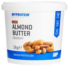 1 kg MyProtein Mandelbutter crunchy grob Mandel Almond Butter Vegan My Protein