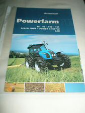 LANDINI POWERFARM 80 90 100 105 Trattore BROCHURE OTT 2008