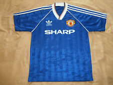 RARE mint MANCHESTER UNITED 1986 1988 3 rd Football Shirt Soccer Jersey Vintage