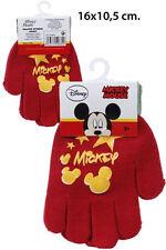 Disney Mickey Mouse Kinderhandschuhe , Jungen Winter Handschuhe mit PVC Aufdruck