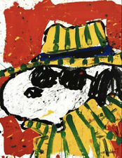 """Tom Everhart """"The Hat That Makes the Dude""""  """"PEANUTS""""  SIGNED Lithograph + COA!"""