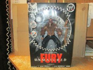 "WWE JAKKS PACIFICc UNMATCHED FURY RARE SERIES #8  ""BOOGEYMAN"" FIGURE NEW IN BOX!"