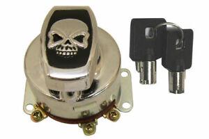 Fat Bob Ignition Key Switch for Harley Davidson by V-Twin