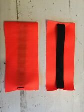 "2 3M Scotchlite Fluorescent Orange Reflective Armband 3"" x 7"" Runner Bike Safety"