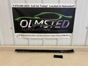 12 15 Chevy Camaro ZL1 Black Glossy Dash Trim 2 Pieces OEM GM 22967691 22757135