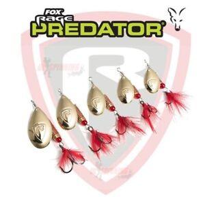 Fox Rage Spinners Predator Lure Fishing French Blade Spinners Perch Pike Chub UL