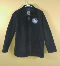 the disney store winnie the pooh eeyore truly blue leather jacket size medium