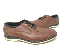 NEW! Sonoma Men's Hayden Lace Up Mesh Lining Dress Shoes Brown #204250 191T tk