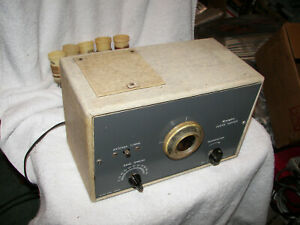 Vintage 1950's Allied Radio Co   Ocean Hopper  +  6 Coils