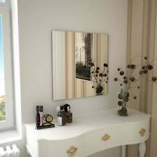 vidaXL Wandspiegel 60x60 Cm Flurspiegel Badspiegel Wand Spiegel Spiegelfliesen