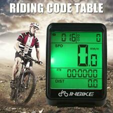 Mountain Bike Speedo Wireless Computer Bicycle Speedometer Odometer  Waterproof