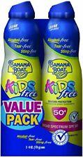 Banana Boat Kids Ultra Mist Tear-Free Sunscreen Spray SPF 50 (Pack of 2)