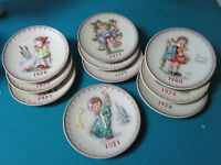 HUMMEL GOEBEL  ANNUAL PLATES YEARS 1971 TO 1980 PICK ONE NO BOXES
