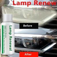 Car Headlight Polishing Fluid Restoration Agent Car Scratch Repair Renovate 50ml