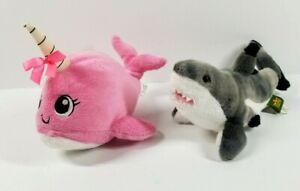 Wild Republic Great White Shark Plush Realistic Cuddlekins Ocean Animal Vintage