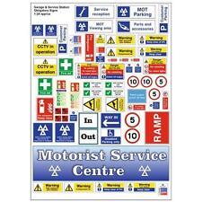 Garage et station service signes obligatoire à l'échelle 01:43