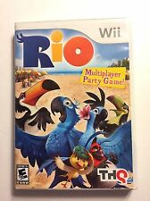 Rio (Nintendo Wii, 2011) Good Condition Tested Works Great Case & Disc (P430)