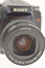 Minolta AF 35-80mm Zoom Lente Para Minolta & Cámaras DSLR Digital Sony Alpha