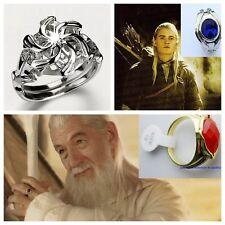 Lord of the Rings Hobbit Gandalf Narya Ring Elrond Vilya Ring Nenya Ring Film