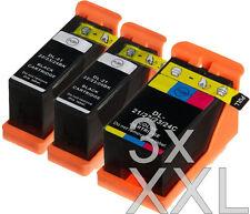 3x XXL TINTE PATRONEN für Dell 21,22,23,24 für V313W V515 V715W P513W P713W SET