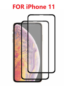 2x Full Cover Tempered Glass Screen Protector For iPhone 11 /11 Pro/11 Pro MAX