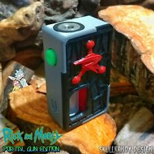 VENOM X 2.0 20700 V2 Full Mech SS Squonk Mod Box Rick & Morty Portal Gun Edition