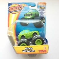 Blaze and The Monster Machines PICKLE Fisher-Price Die-Cast Metal Car NEW