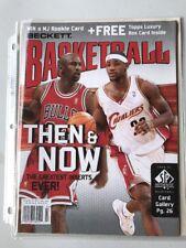 Lebron James And Michael Jordan Magazine
