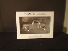 "TIMEX MINI COLLECTIBLE METAL 3.5"" PICKUP TRUCK CLOCK NEW"