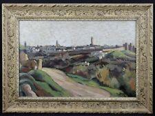 Hélène VOGT (1902-1994) Meknès Maroc HST orientalisme Victor Prouvé pointillisme