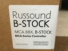 RUSSOUND MCA-88X 8 source multi-zone amplifier controller Only With streamer