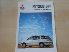 52703) Mitsubishi Space Wagon Prospekt 03/1994