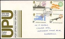 GB FDC 1974 UPU, Scarborough FDI #C31874