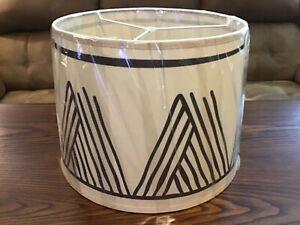 Disney AK Resort Decorative BURLAP LAMP SHADE 14inTop/16in Bottom