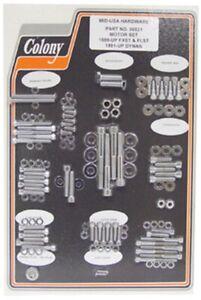 71-76 Harley Sportster Engine Powertrain Allen Hardware Bolts Nut Kit 06535