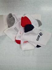 Asics Calze 3PPK Crew Socks (3 paia), Unisex -Art. 321744-0187(Bianco Color Mix)