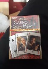 James Bond 007 - Cartamundi - Casino Royale -  Playing Cards - Brand New Sealed